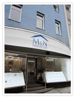 Das Ladenlokal von M&N Immobilien in Essen - Finden Sie Ihren richten Immobilienmakler.