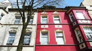 pinkes+Wohnhaus+in+Essen+Frohnhausen