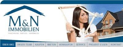 M&N Immobilien in Essen hat ein Neues Layout auf Ihrer Homepage