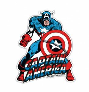 Kühlschrankmagnet Captain America