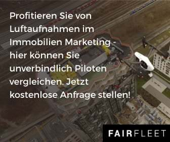 Drohnen im Immobilien-Marketing