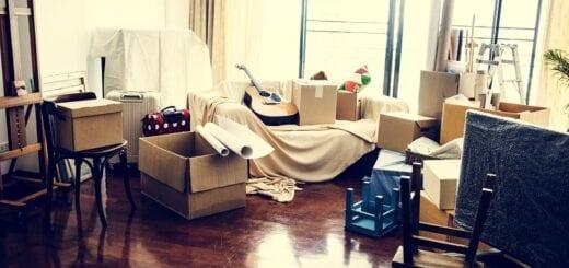 Umzug mit Möbelspedition
